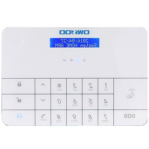OWSOO Wireless GSM & Security Alarm System with