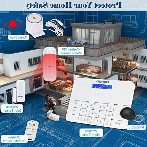& Home Security Burglar System Dialer