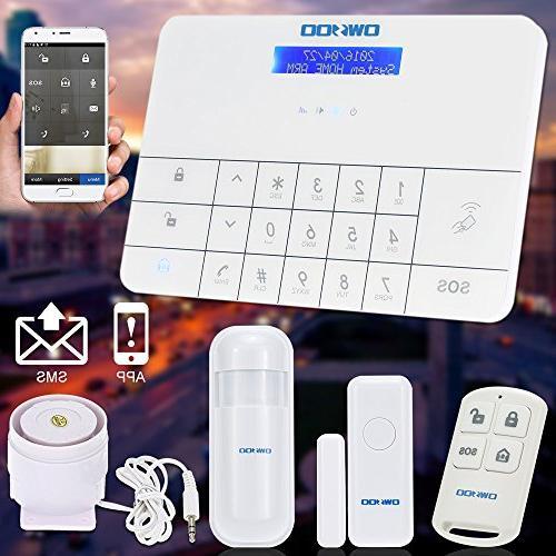OWSOO Wireless & Security Burglar Alarm System with Auto