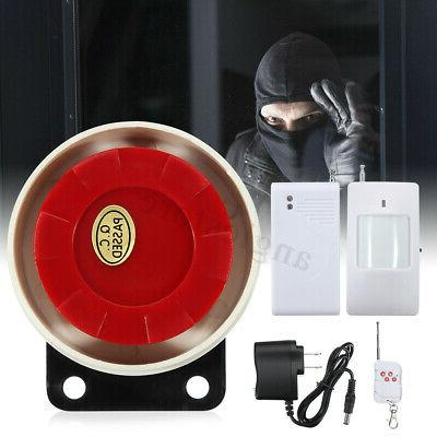 Wireless Burglar PIR Motion US