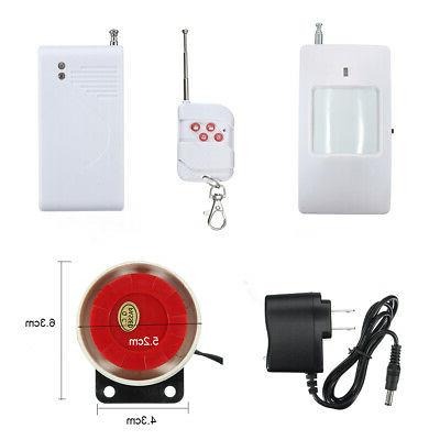 Wireless Home Alarm Burglar System PIR