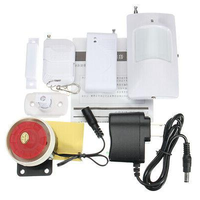 Wireless Home Burglar Intruder Siren PIR