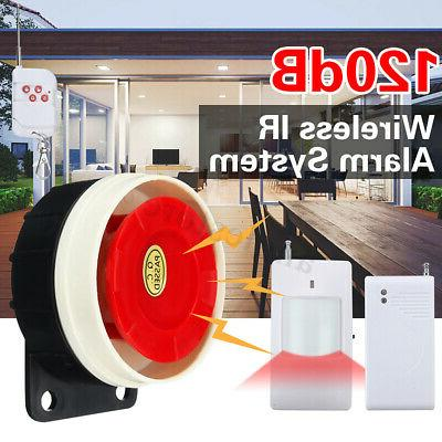 wireless home alarm security burglar intruder system