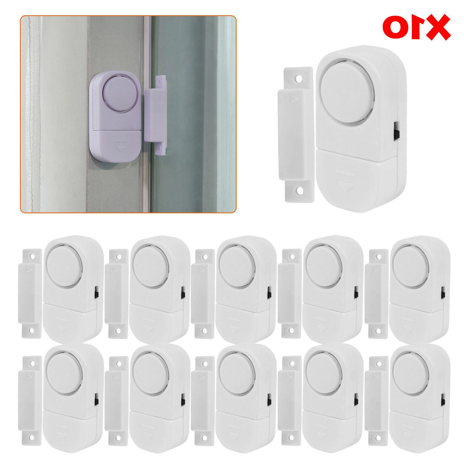 Wireless Home Security Door Window Entry Burglar Alarm Syste