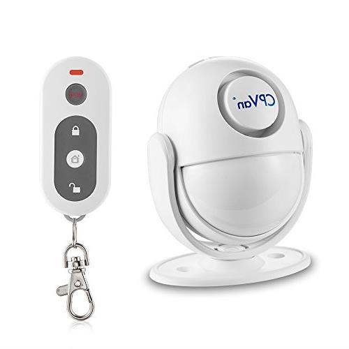 wireless infrared indoor motion detector