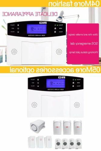 Wireless LCD Burglar Auto Dialer Safe HC