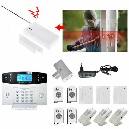 Wireless Burglar Auto Dialer Safe HC