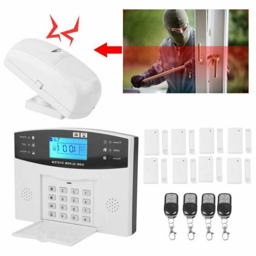 Wireless LCD Home House Fire Alarm Dialer