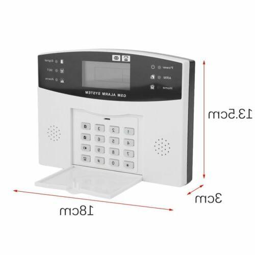Home Burglar Fire Alarm Dialer A