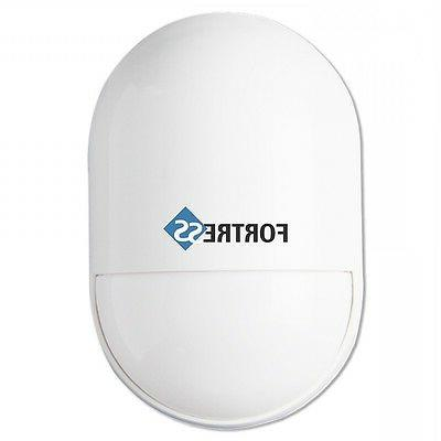 Wireless Motion Detector Sensor Fortress Total Security Alar
