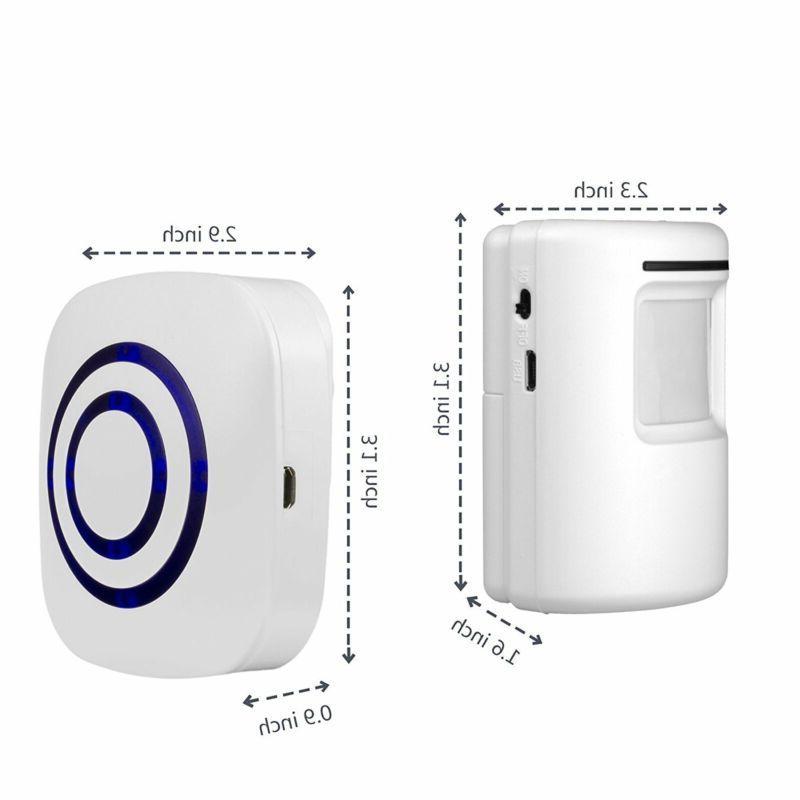 Wireless Motion Sensor Alarm Home Driveway Alarm Alert