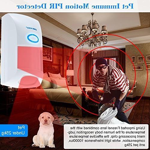 OWSOO Wireless Pet Sensor Alarm System