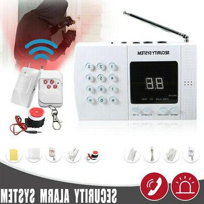Wireless PIR Burglar Alarm