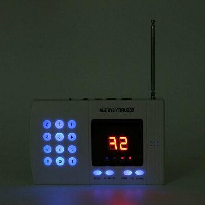 Wireless PIR Sensor House Security Auto Burglar US