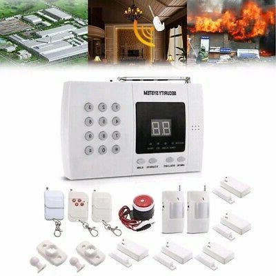 wireless pir sensor home house security auto