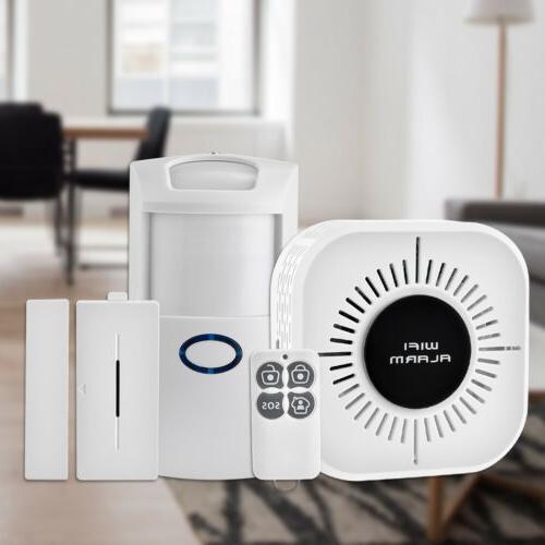 wireless security alarm system home wifi app