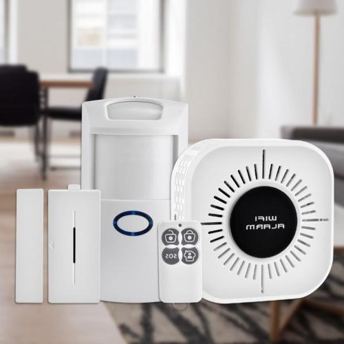 wireless security alarm system home wifi app