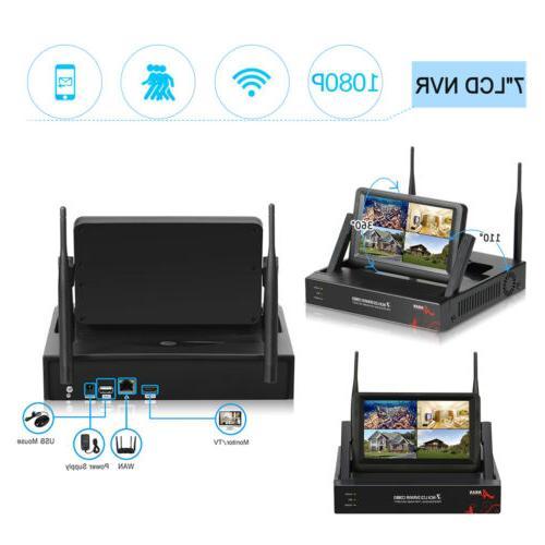 ANRAN Wireless System 4CH 1080P 1TB HDD