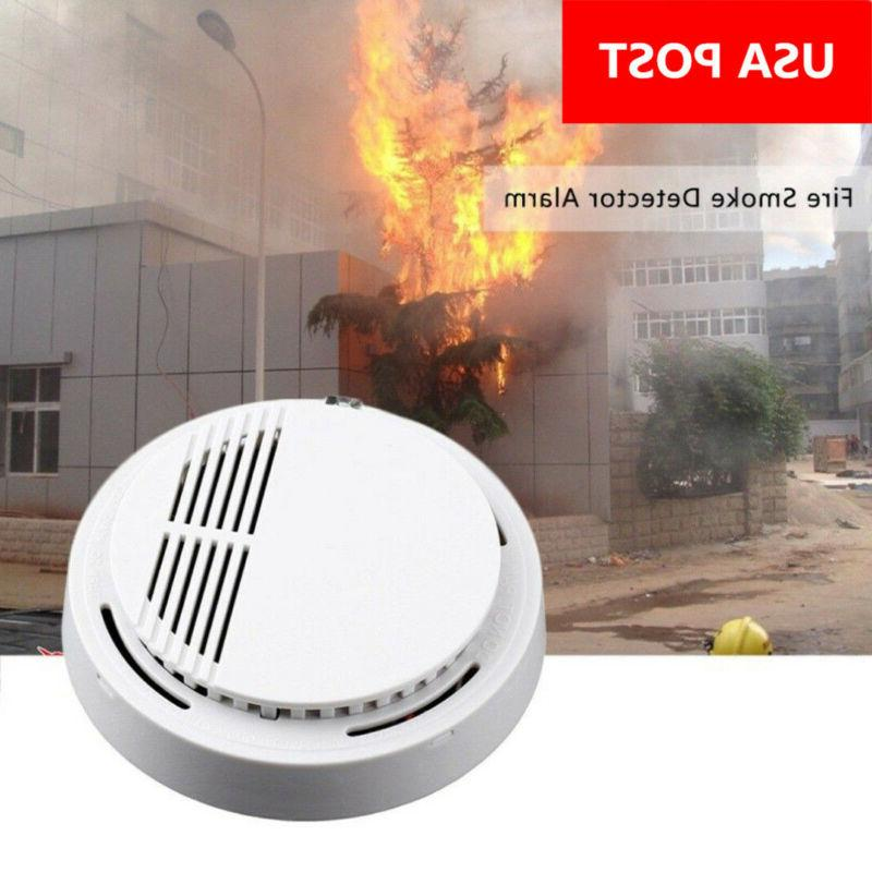 wireless smoke detector home security fire alarm