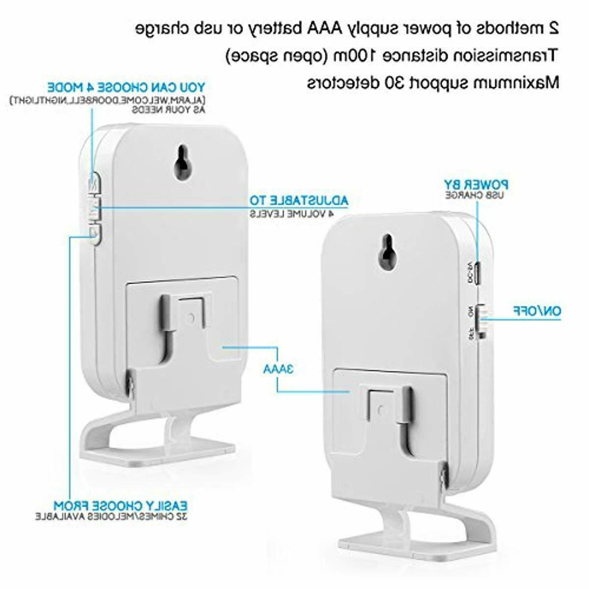 KERUI Wireless Split Welcome Motion Sensor Alert System Doorbell Door Bell
