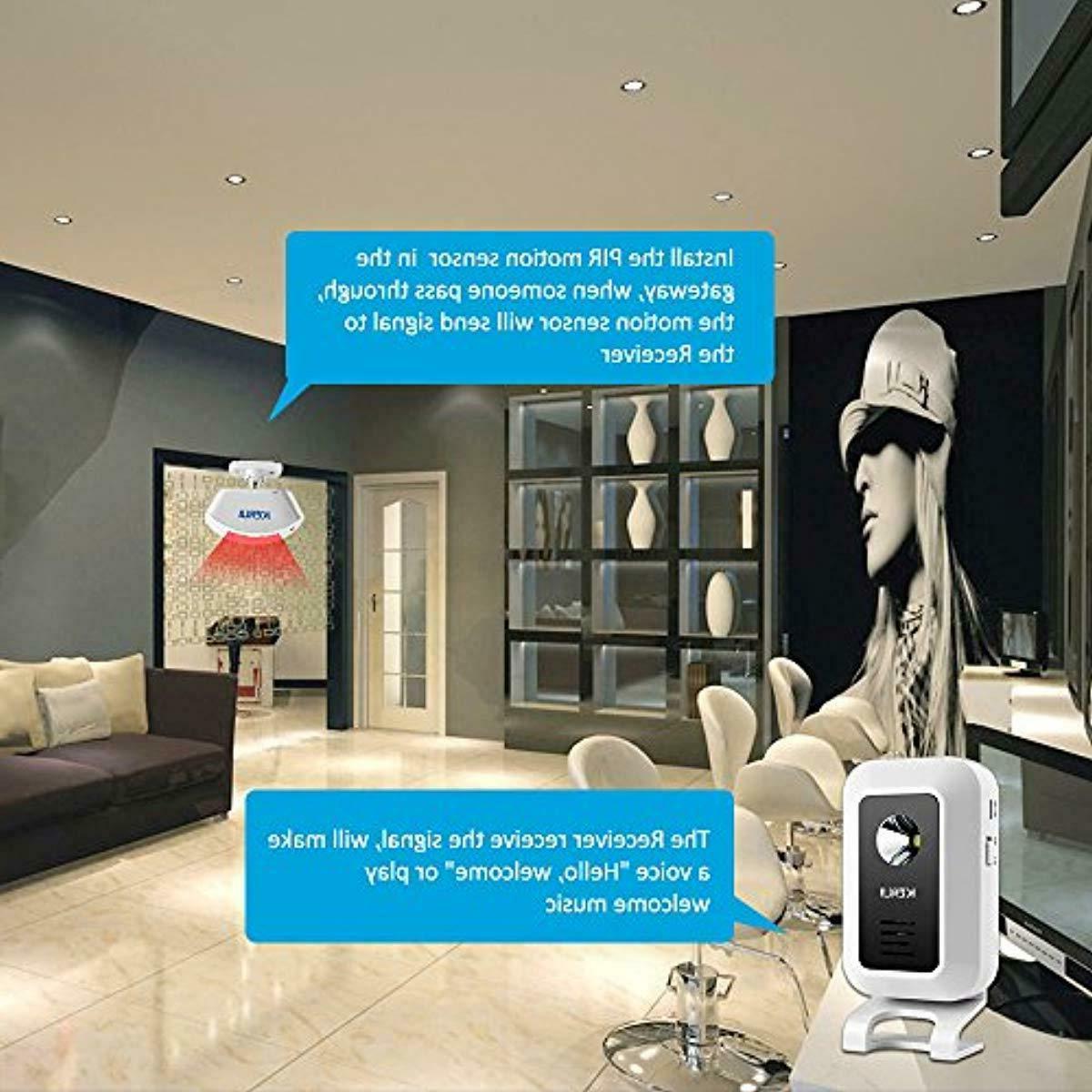 KERUI Wireless Motion Sensor System Bell