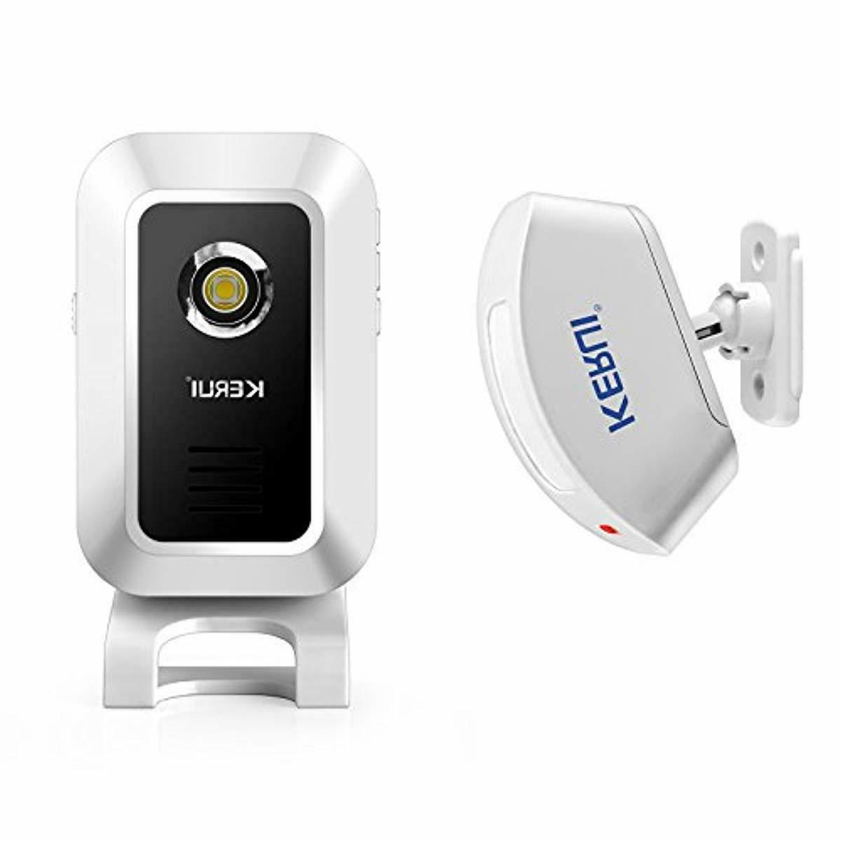wireless split welcome motion sensor alert alarm