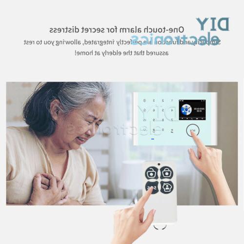 Wireless WiFi+GSM+GPRS Network Home System Tuya
