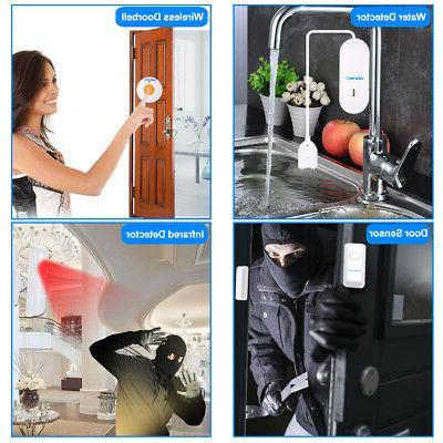 433Mhz RF SMS LCD Home Burglar Alarm Security System Control