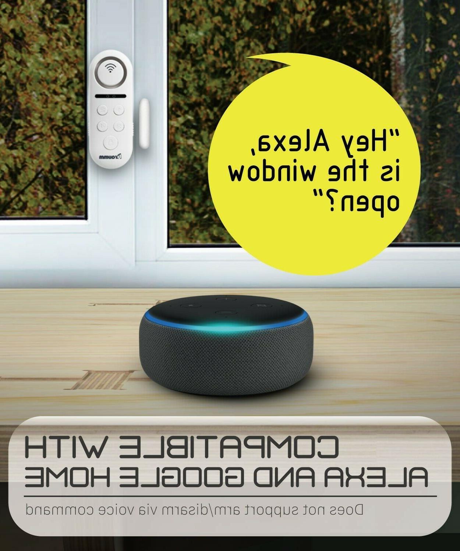 Wireless Smart Home Door Window Alarm Security System Chime