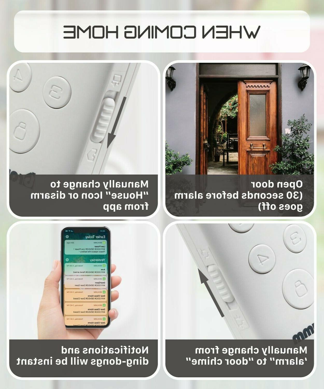 Wireless Wifi Smart Door Alarm Security