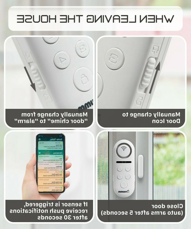 Wireless Wifi Smart Door Alarm Security System