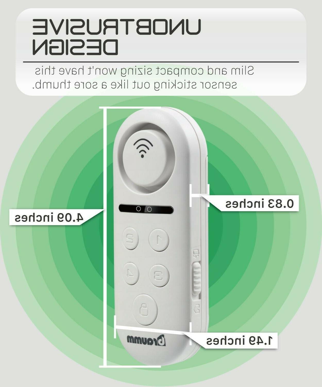 Wireless Smart Door Window Alarm Sensor Security System Alexa