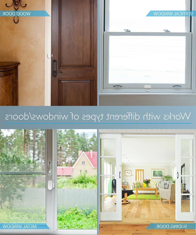 Wireless Door Open Remote Siren Chime