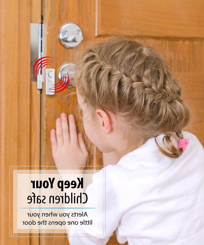 Wireless Window Open Control Siren Alarm Chime Sensor