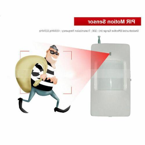 Wireless Wired Alarm Burglar