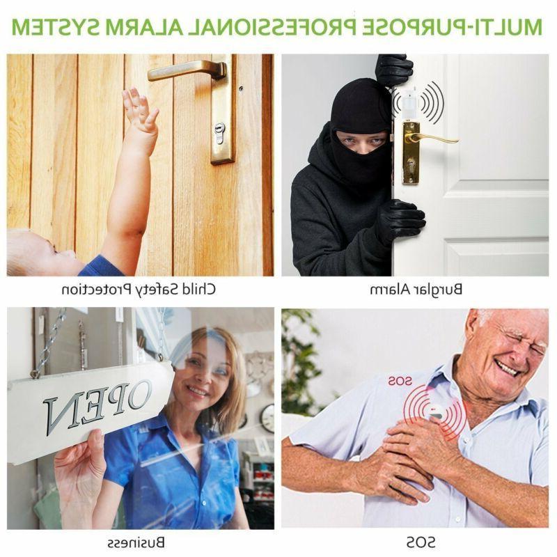 Wireless House Alarm System Burglar Alarm