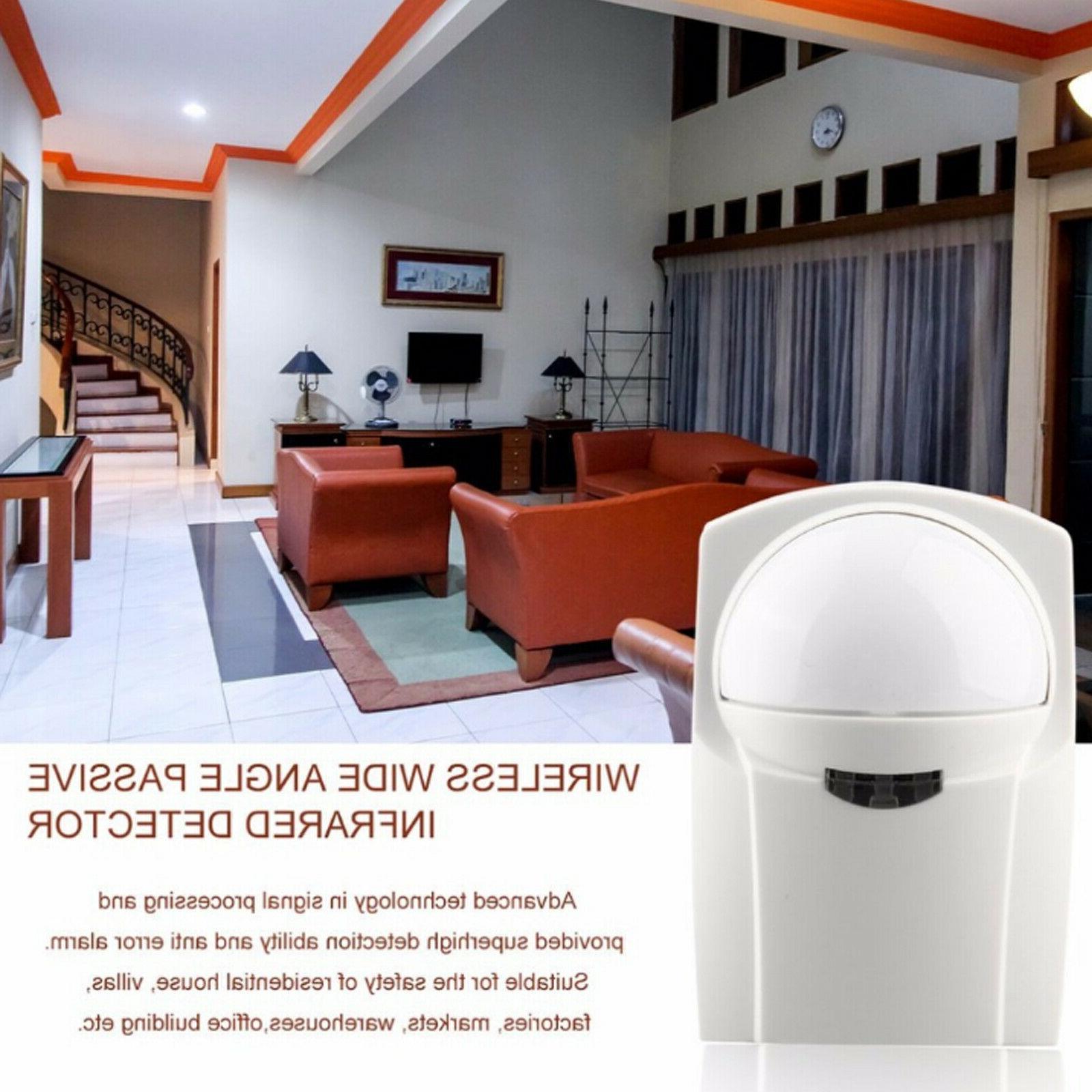 Wireless LCD Alarm System Sensors