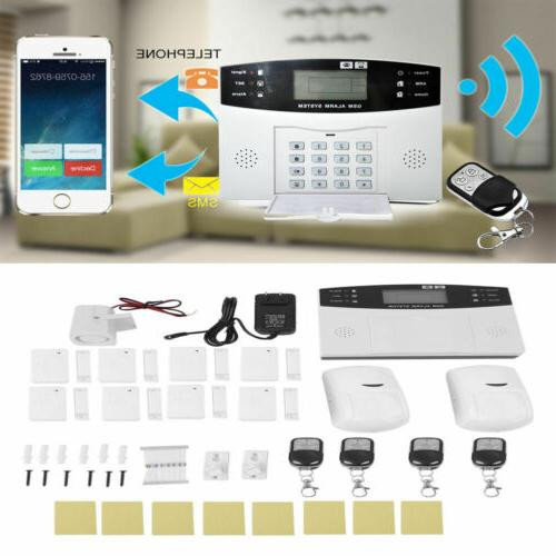 Wireless SMS Home House System Sensors EK