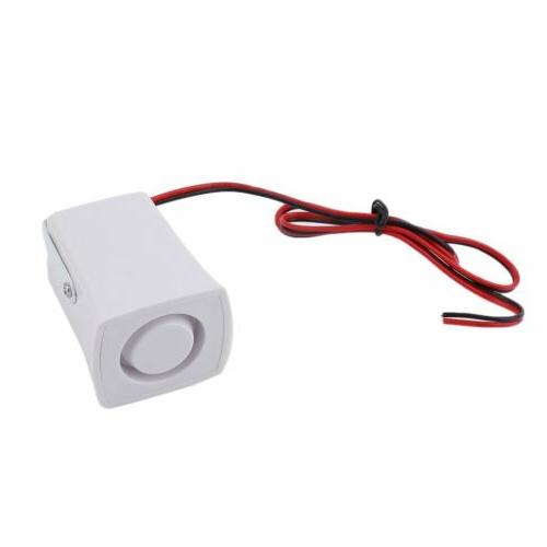 Wireless Wired GSM+SMS Alarm