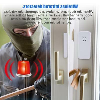 Wireless Wired GSM+SMS Home Alarm System