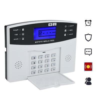 Wireless LCD Keypad GSM+SMS Alarm