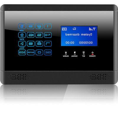 Wireless Touch Keypad House Alarm System Security Burglar