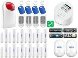 L30 KERUI APP WiFi IP GSM PSTN RFID Wireless Home Burglar Se