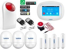 M09 KERUI WiFi APP Internet GSM GPRS Wireless Home Security