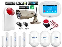 L45 KERUI WiFi GSM APP Wireless DIY Home Security Alarm Syst