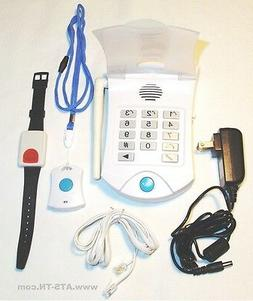 LIFE GUARDIAN MEDICAL HELP ALARM EMERGENCY ALERT PHONE SYSTEM NO MONTHLY CHARGES