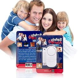 Best Wireless Loud and Discreet Mini Entry Alarm Easy To Ins