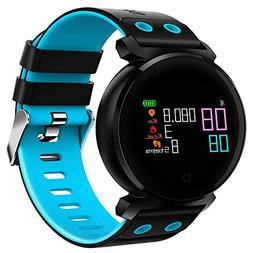 LQHLP Smart Bracelet Watch Sports Step Ip68 Waterproof Heart