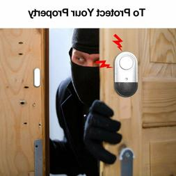 Magnetic Sensor Home Warning Stick On Guard Burglar <font><b