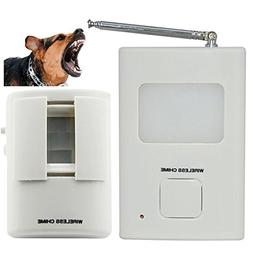 Dog Barking Alarm Motion Detector,Pir Wireless Human Body Do
